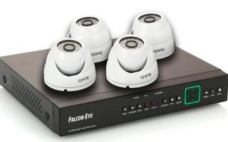Комплект видеонаблюдения falcon eye fe 104d kit: принцип работы и недостатки устройства