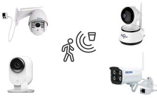 Обзор лучших камер видеонаблюдения с датчиком движения: xiaomi, escam, vstarcam и hiseeu