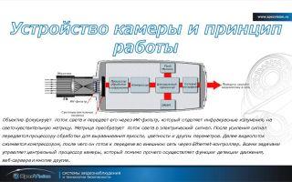 Принцип работы ip камеры видеонаблюдения: устройство и характеристики