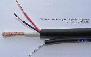 Типы кабелей для видеонаблюдения: коаксиальный, витая пара и usb