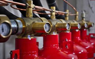 Монтаж и обслуживание системы газового пожаротушения