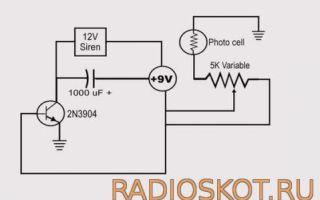 Лазерная сигнализация своими руками в домашних условиях: схема