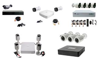 Топ лучших уличных готовых комплектов видеонаблюдения: tecsar, green vision, covi security, dahua и hikvision