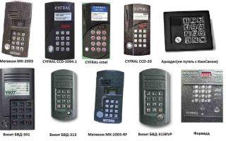 Как узнать, какая фирма обслуживает домофон: контакты не панели