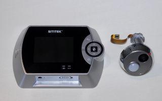 Видеоглазок gsm с датчиком движения и записью: bb mobile, sititek