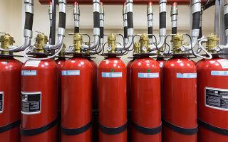Газовое пожаротушение хладонами: виды хладонов, преимущества