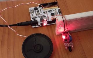 Как работает датчик пламени ардуино (arduino), его преимущества