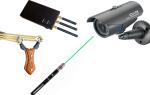 Как обезвредить камеру видеонаблюдения: лазерное и магнитное излучение, помехи