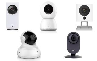 Обзор лучших камер видеонаблюдения xiaomi: преимущества и недостатки