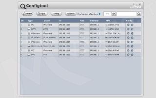 Как подключить ip камеру dahua: настройка программы config tool