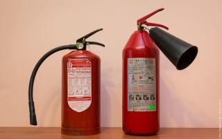Разница между порошковым и углекислотным огнетушителем: сравнительный анализ устройств