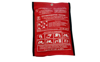 Противопожарное полотно (кошма): виды и области применения