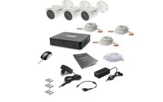 Выбираем лучшею систему видеонаблюдения для частного дома: tecsar, green vision, hikvision и tecsar