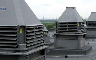 Крышные вентиляторы дымоудаления: особенности монтажа