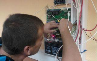 Установка охранной сигнализации: обслуживание и монтаж систем