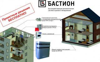 Система пожаротушения для частного деревянного дома: виды