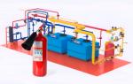 Какие огнетушители должны быть в котельной: газовой и твердотопливной