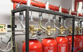 Газовое пожаротушение для серверной: преимущества, топ-5