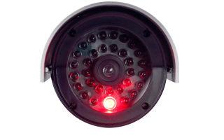 Как изготовить муляж камеры видеонаблюдения с мигающим красным светодиодом